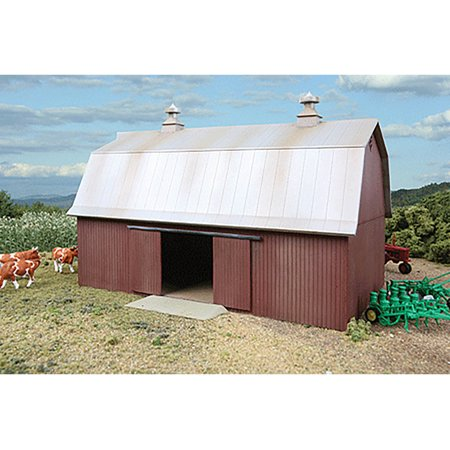 Walthers Cornerstone HO Scale Building/Structure Kit Meadowhead Barn/Farm Series