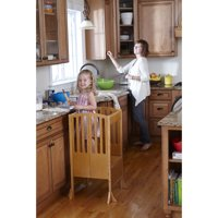 Contemporary Kitchen Helper - Honey with Keeper and Non-slip Mat