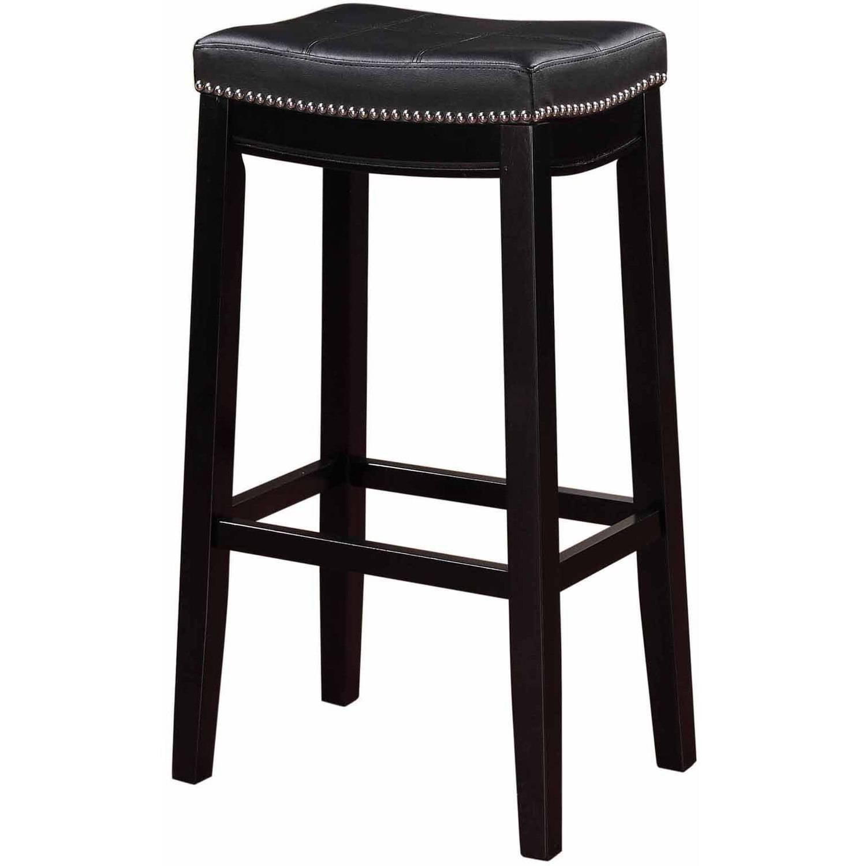 Linon Claridge Bar Stool, 32 inch Seat Height, Multiple Colors by Linon
