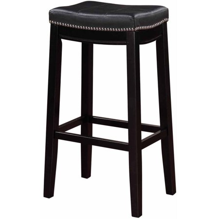 Linon Claridge Bar Stool, 30 inch Seat Height, Multiple Colors ()