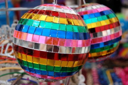 "2"" Rainbow Mirror Disco Ball by"
