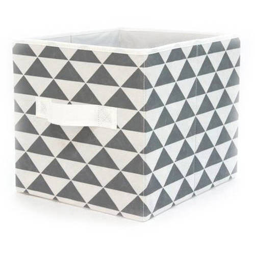 """Mainstays Collapsible Fabric Storage Cube, Set of 2 , Multiple Colors (12.5"""" x 12.5"""")"""