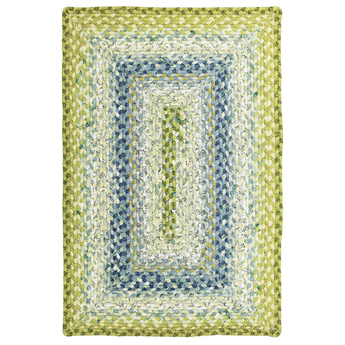 Homespice Seascape Braided Rectangle Rug - (5 foot x 8 foot)