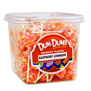 Dum Dum Pops 1 lb tub Raspberry Lemonade