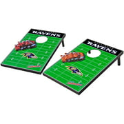 Wild Sports NFL Baltimore Ravens 2x3 Field Tailgate Toss