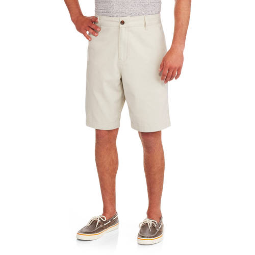 Faded Glory Big Men's Flat Front Twill Short by CLASSIC FASHION