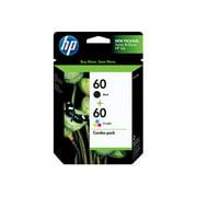 HP 60 Ink Cartridges - Black, Tri-color, 2 Cartridges (N9H63FN)