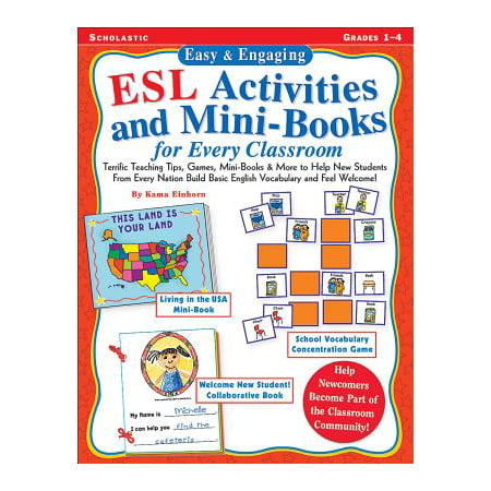 Easy & Engaging ESL Activities and Mini-Books for Every Classroom : Teaching Tips, Games, and Mini-Books for Building Basic English Vocabulary!](Halloween Activities For The Classroom)