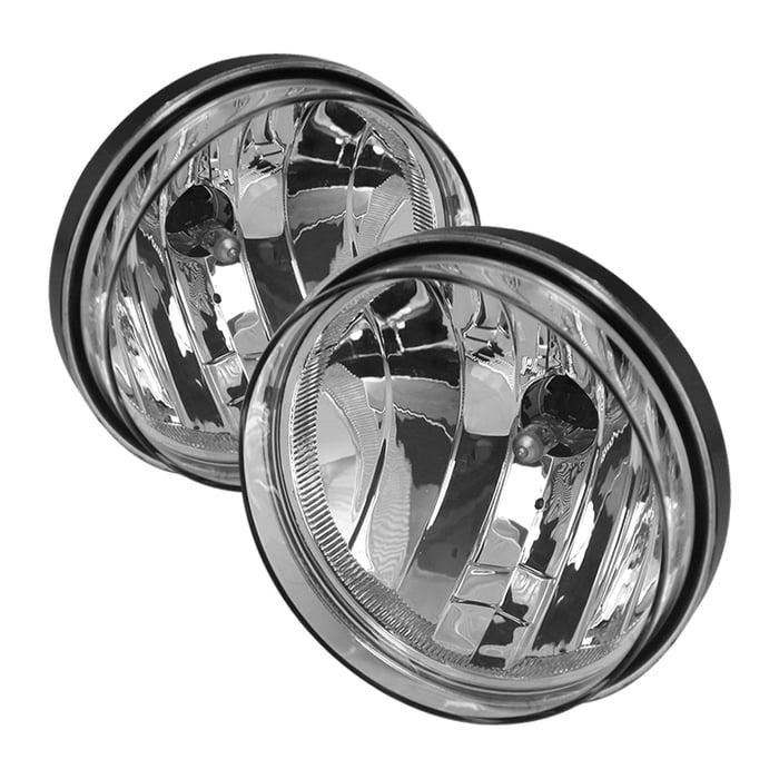 Spyder GMC Sierra 1500/2500/3500 HD 07-13 OEM Fog Lights wo/switch - Clear