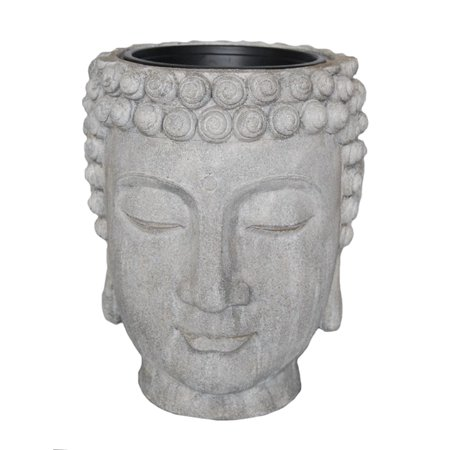 Sagebrook Home Buddha Head Planter