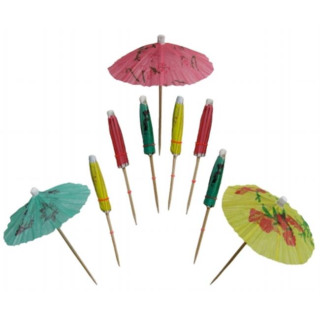 WeGlow International 86PS1 Drink Umbrella - Set of 100