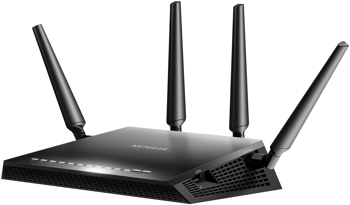 NETGEAR Nighthawk X4S AC2600 4x4 MU-MIMO Smart WiFi Dual Band Gigabit Router (R7800) by NETGEAR