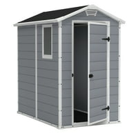 Deals on Keter Manor 4x6-ft Resin Storage Shed