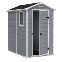 Product Image Keter Manor 4 X 6 Resin Storage Shed All Weather Plastic Outdoor