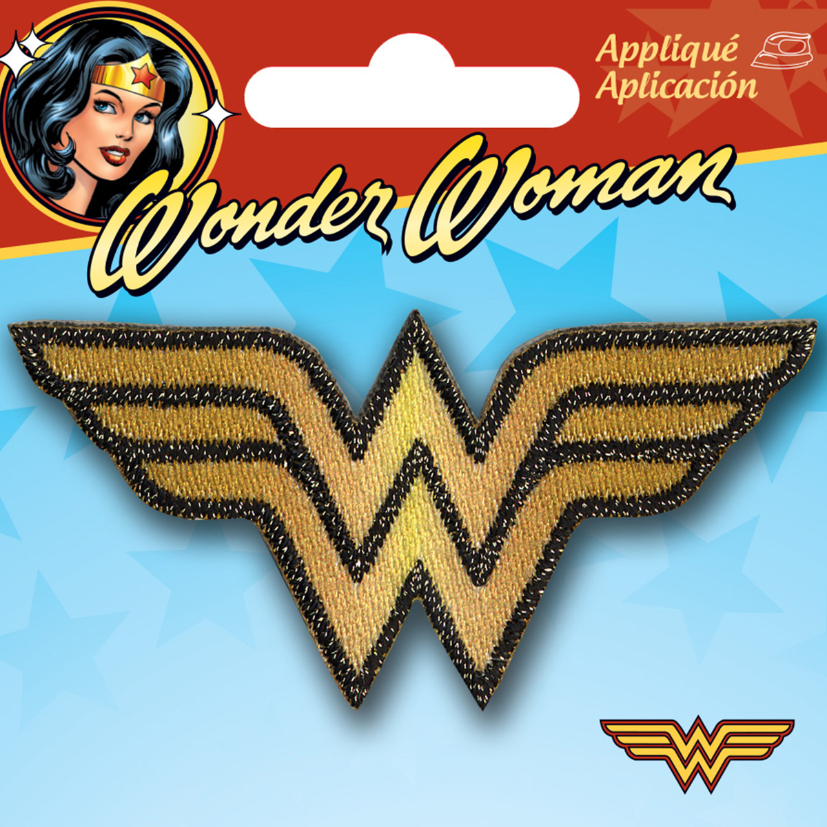 DC Comics Sew-On Applique - Wonder Woman Logo