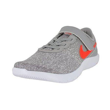 Nike - NIKE Kids Flex Contact (PS) Grey Total Crimson Vast Grey Size ... 8582d2aa1130