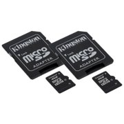 Sony HDR-CX240 Camcorder Memory Card 2 x 4GB microSDHC Memory Card with SD Adapter (2 Pack)