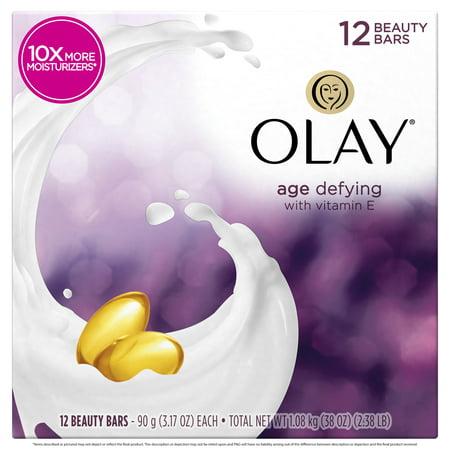 Olay Moisture Outlast Age Defying Beauty Bar 3.17 oz, 12 count