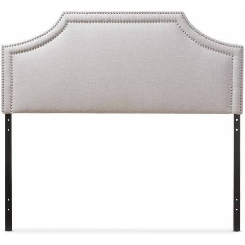 Baxton Studio Avignon Modern and Contemporary Upholstered Headboard, Multiple Sizes and Colors by Baxton Studio