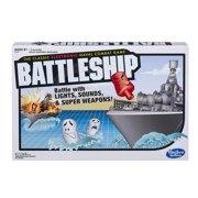 Electronic Battleship Portable Game, Electronic Game for Kids Ages 8 and up