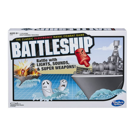 Electronic Battleship Portable Game for Kids Ages 8 and up