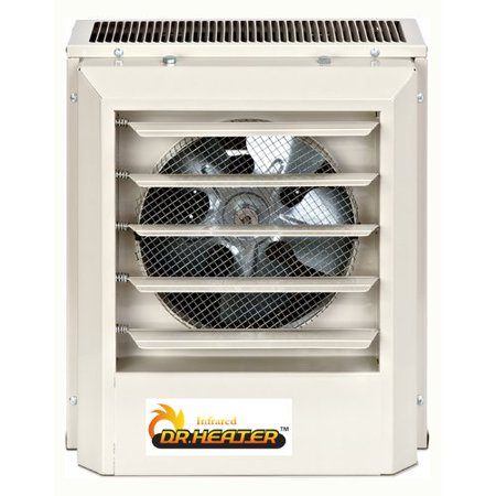 Dr. Infrared Heater 10,300 BTU Electric Forced Air Wall Mounted covid 19 (Electric Infrared Wall coronavirus)