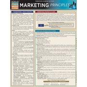 BarCharts 9781423215042 Marketing Principles Quickstudy Easel