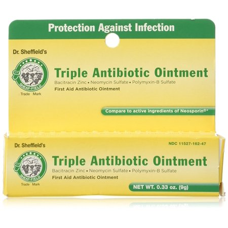 Dr. Sheffield's Triple Antibiotic Ointment, 0.33 oz 2 Triple Antibiotic Ointment