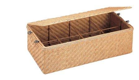 Wicker CD Storage Basket  sc 1 st  Walmart & Wicker CD Storage Basket - Walmart.com