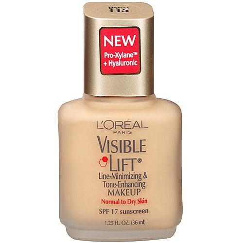 L'Oreal  Paris Visible Lift Line-Minimizing & Tone-Enhancing Makeup, Sun Beige