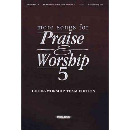 - Word Music More Songs for Praise & Worship - Volume 5 (Choir/Worship Team Edition (No Accompaniment))
