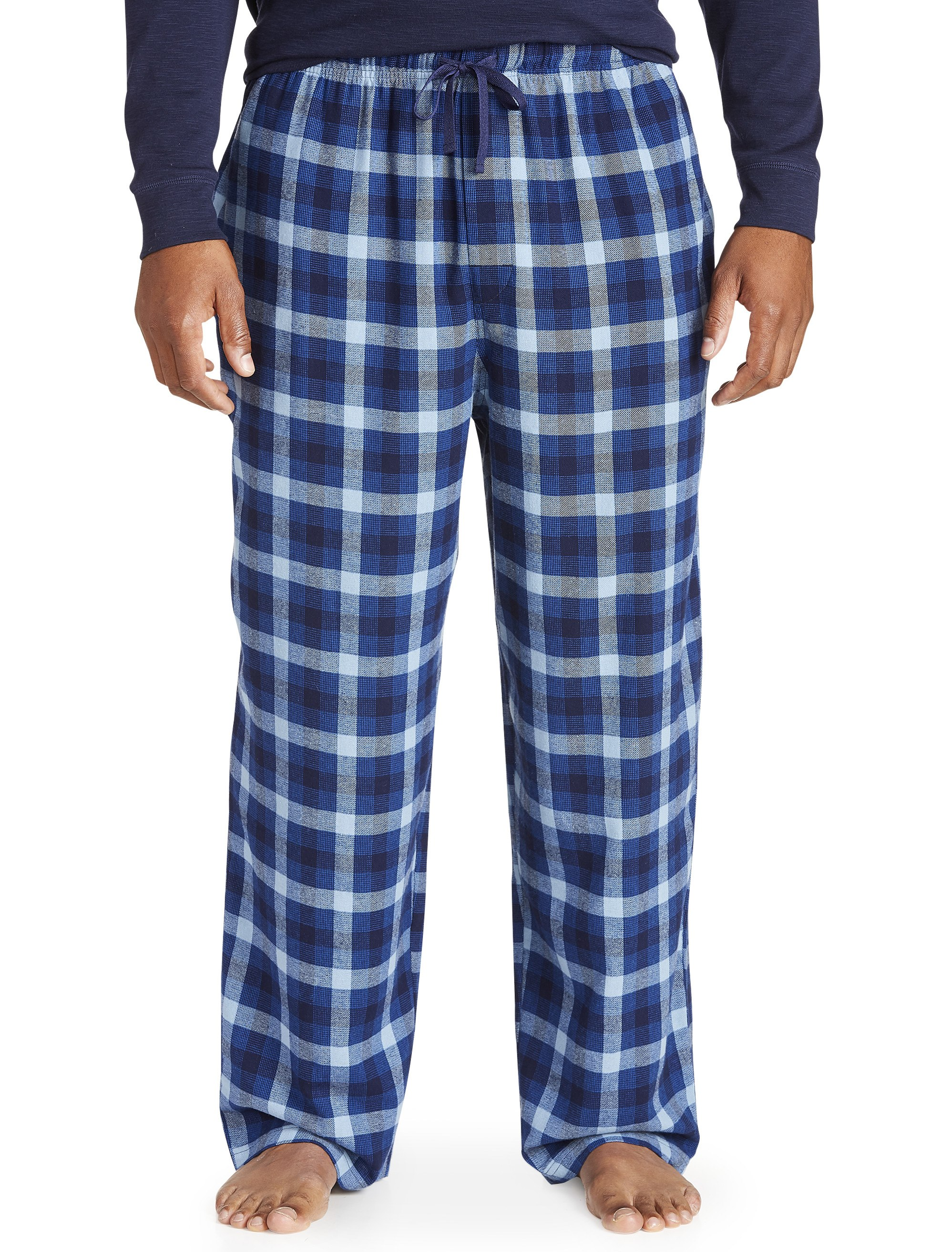 Men's Big & Tall Harbor Bay Flannel Lounge Pants