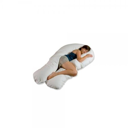 Comfort U Total Body Support Pillow Full Size.Moonlight Slumber Comfort U Total Body Support Pillow Full Size