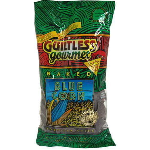 Guiltless Gourmet Tortilla Chips Blue 7 OZ (Pack of 12)