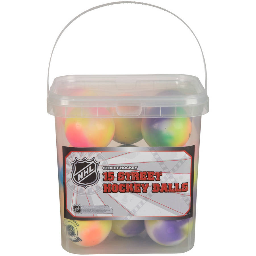 Franklin Sports NHL Ex Col Balls/15-Piece Bucket
