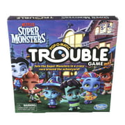 Trouble Super Monsters Edition Board Game For Kids Ages 5 and up