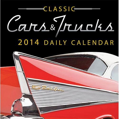 Avalanche Cars and Trucks 2014 Box Calendar