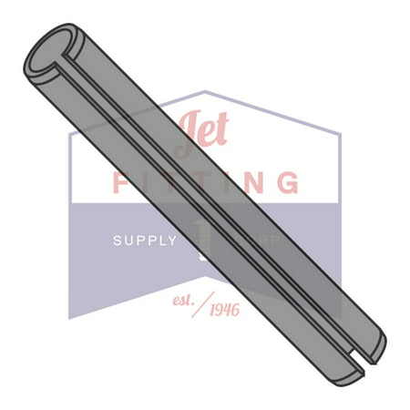 M3 x 16mm Roll (Spring) Pins | Slotted Type | Metric ISO 8752 | Carbon Steel | Thermal Black Oxide (Quantity: (Metric Spring Pins)