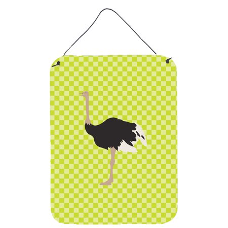 Common Ostrich Green Wall or Door Hanging Prints
