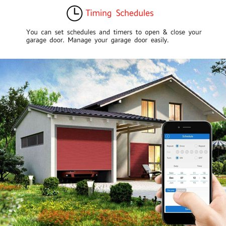 2.4GHz WiFi Smart Switch Garage Door Opener Smart Home Remote Controller for Alexa for Google Home for Echo APP Control - image 8 of 8