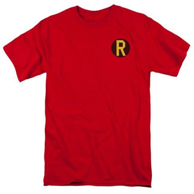 Dc-Robin Logo - Short Sleeve Adult 18-1 Tee - Red, 4X - image 1 de 1