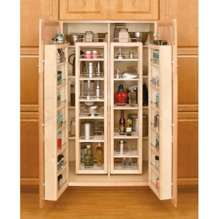Rev A Shelf 4wp18 45 Kit 4wp Series 45 Tall Swing Out Pantry Cabinet Organizer