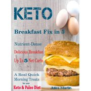 Keto Breakfast Fix in 5 - eBook