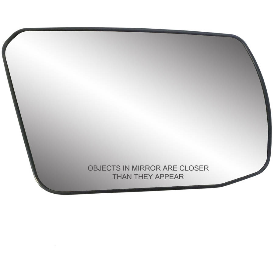 Fit System 80215 Honda Accord Right Side Power Replacement Mirror Glass with Backing Plate