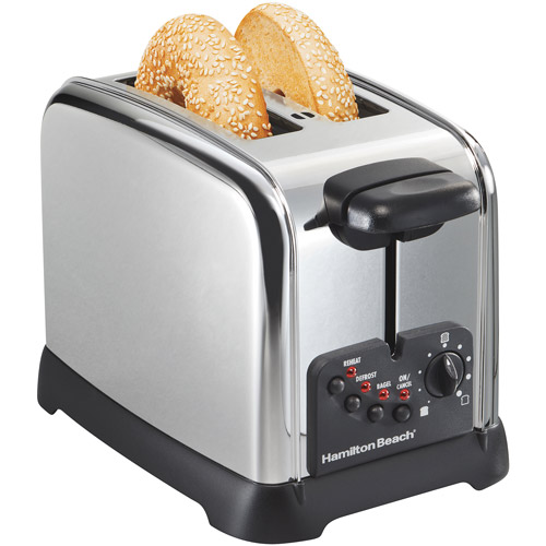 Hamilton Beach Classic Chrome 2-Slice Toaster, Chrome