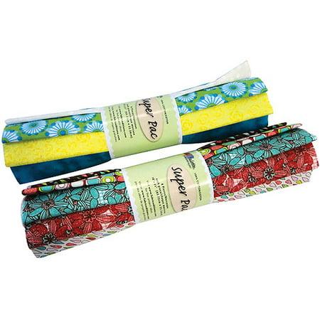 - Fabric Palette Super Pack (8 1/4yd Pre-Cuts) 100% Cotton, Assorted