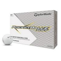 TaylorMade RocketBallz Soft Golf Balls, 12 Pack