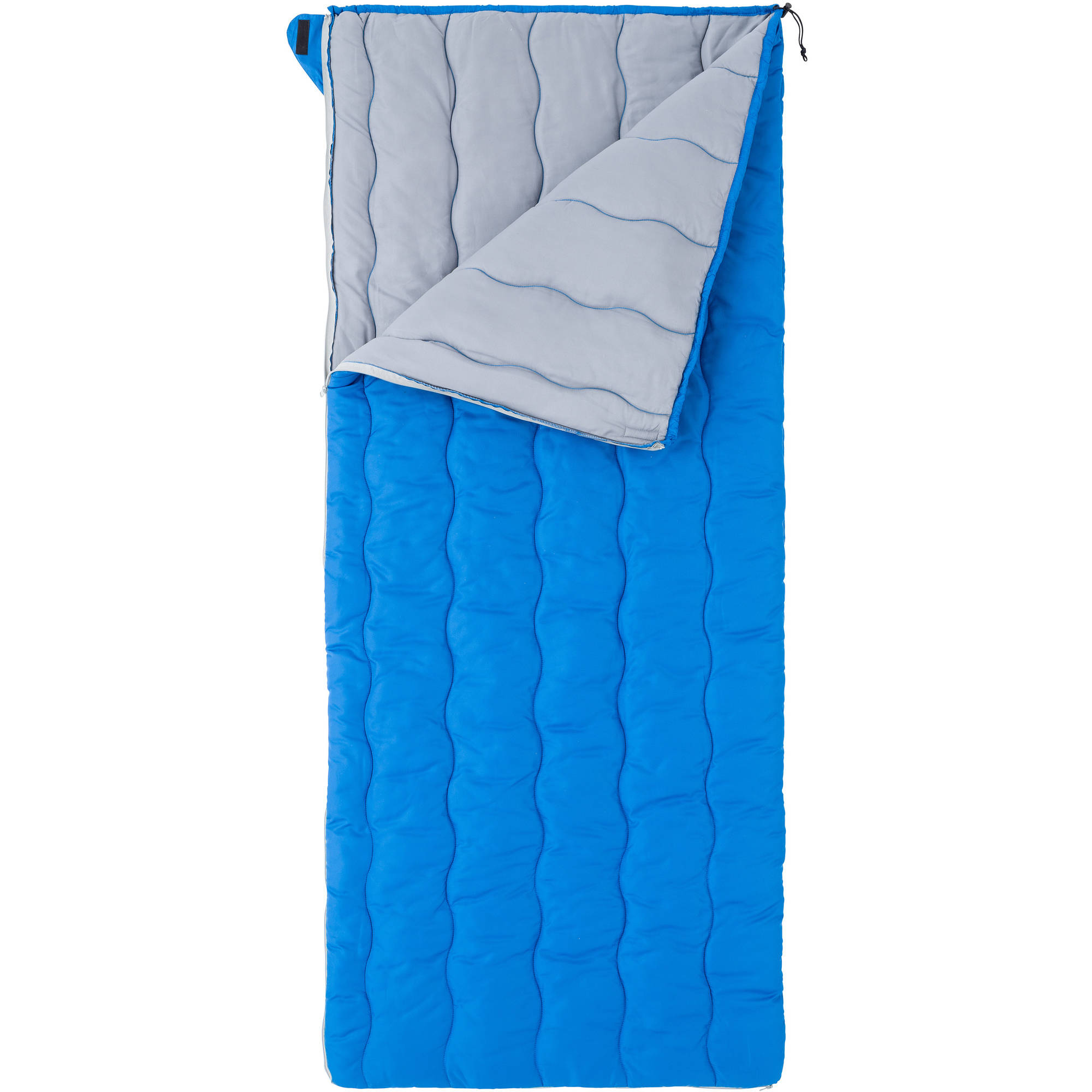 Ozark Trail Envelope 40F Sleeping Bag, Blue