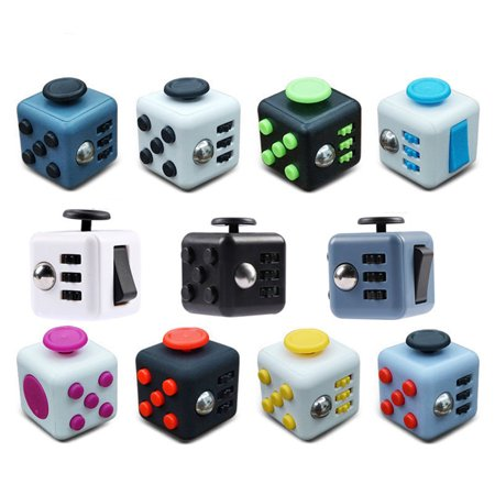 EZshoot Fidget Cube Decompression Anti-Anxiety Reduce Pressure Dice Creative Toy