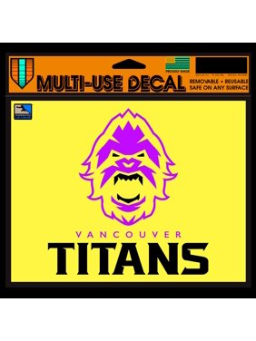 """Vancouver Titans WinCraft 5"""" x 6"""" Car Decal"""